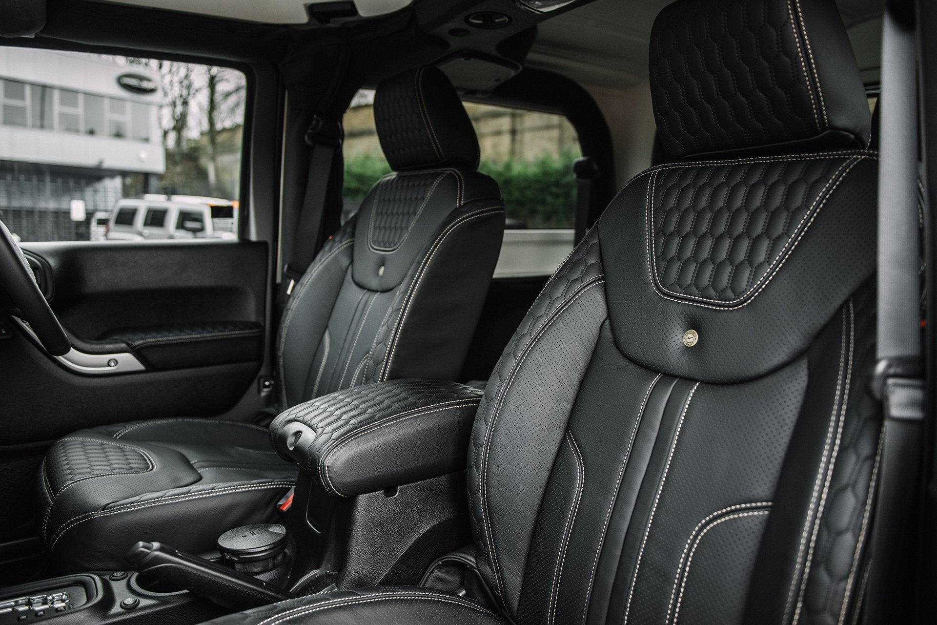 Jeep Wrangler Jk (2011-2018) 2 Door Leather Interior by Chelsea Truck Company - Image 1334