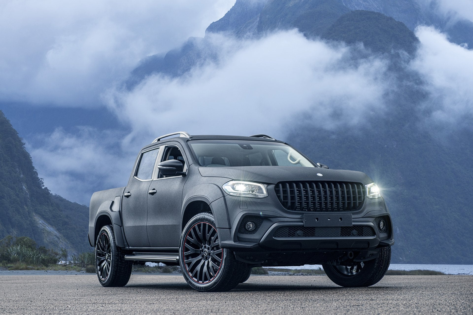 Mercedes X-Class (2019-PRESENT) Wide Track Exterior Body Styling Pack