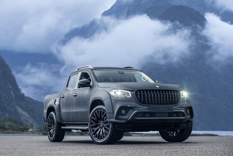 Mercedes X-Class (2019-Present) Wide Track Exterior Body Styling Pack by Kahn - Image 2864