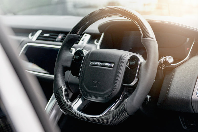 RANGE ROVER SPORT (2018-PRESENT) Exposed Carbon Steering Wheel