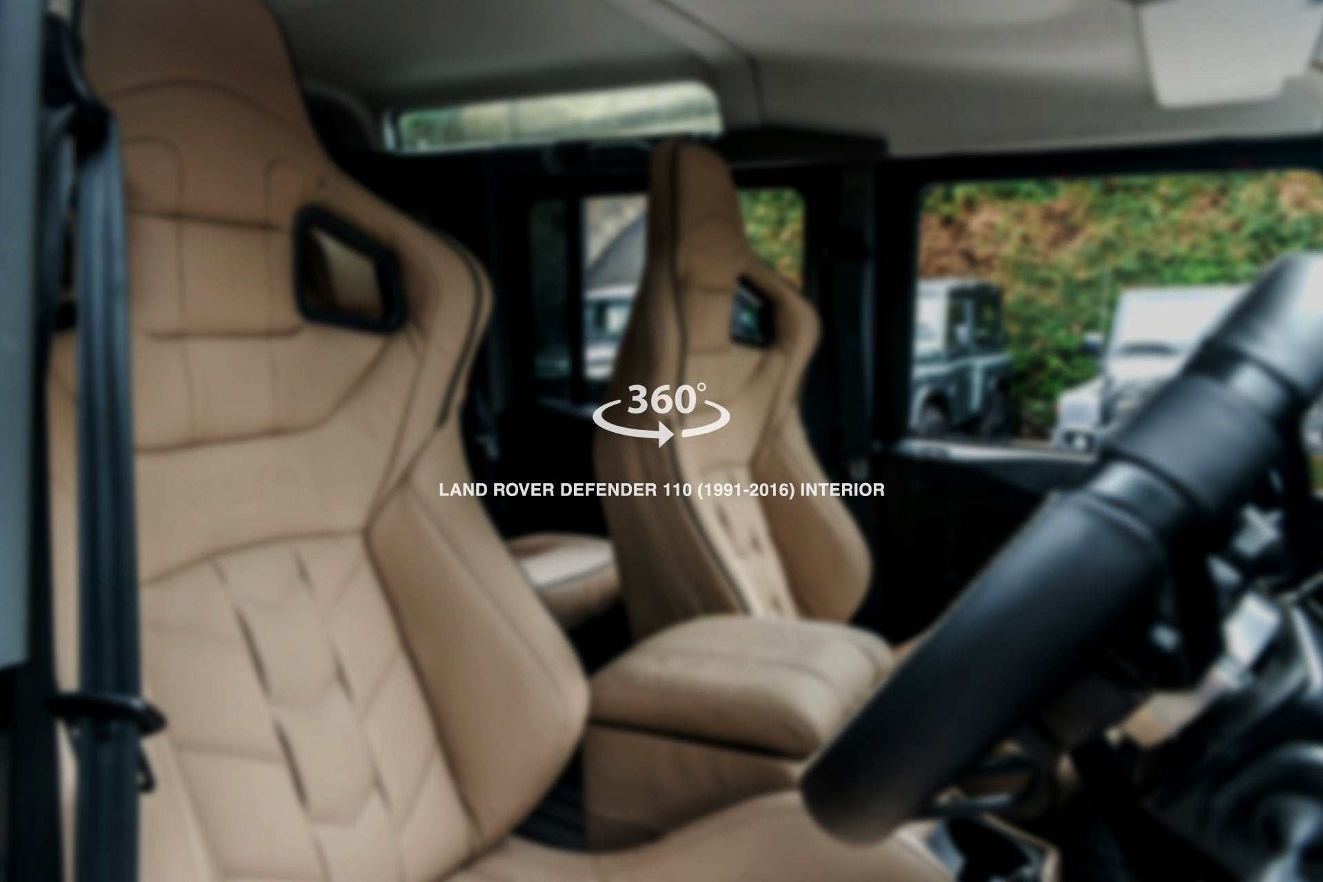 Land Rover Defender 110 (1991-2016) Sports Interior - Project Kahn