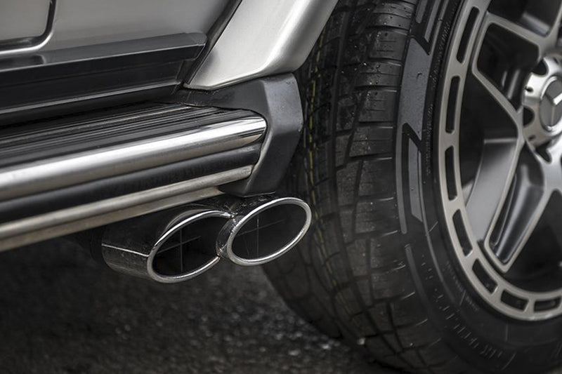 Mercedes G-Wagon 2 Door (1990-2006) Exhaust Side Pipes by Chelsea Truck Company - Image 1303