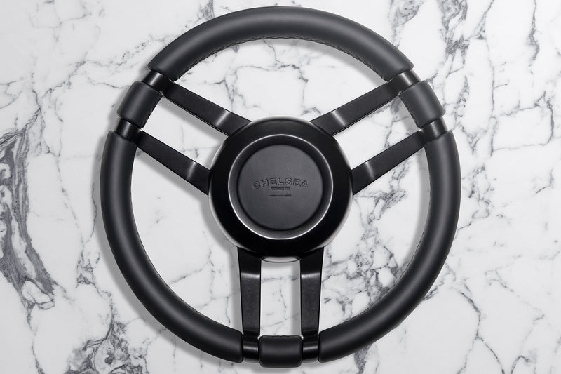 Land Rover Defender (1991-2016) Bespoke Double 3-Spoke Steering Wheel Image 4298