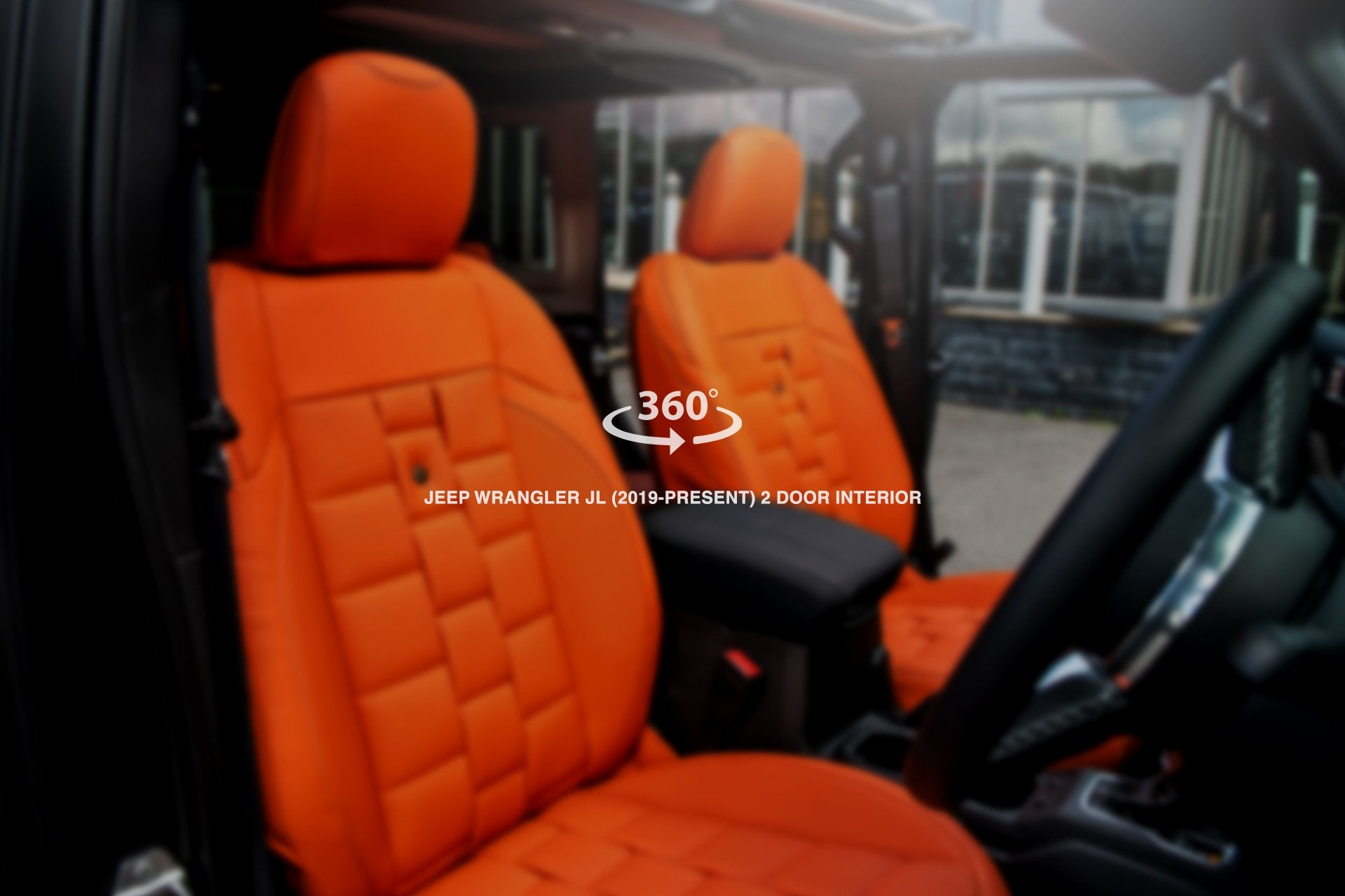 JEEP WRANGLER JL (2018-PRESENT) 2 Door Comfort Interior - Project Kahn