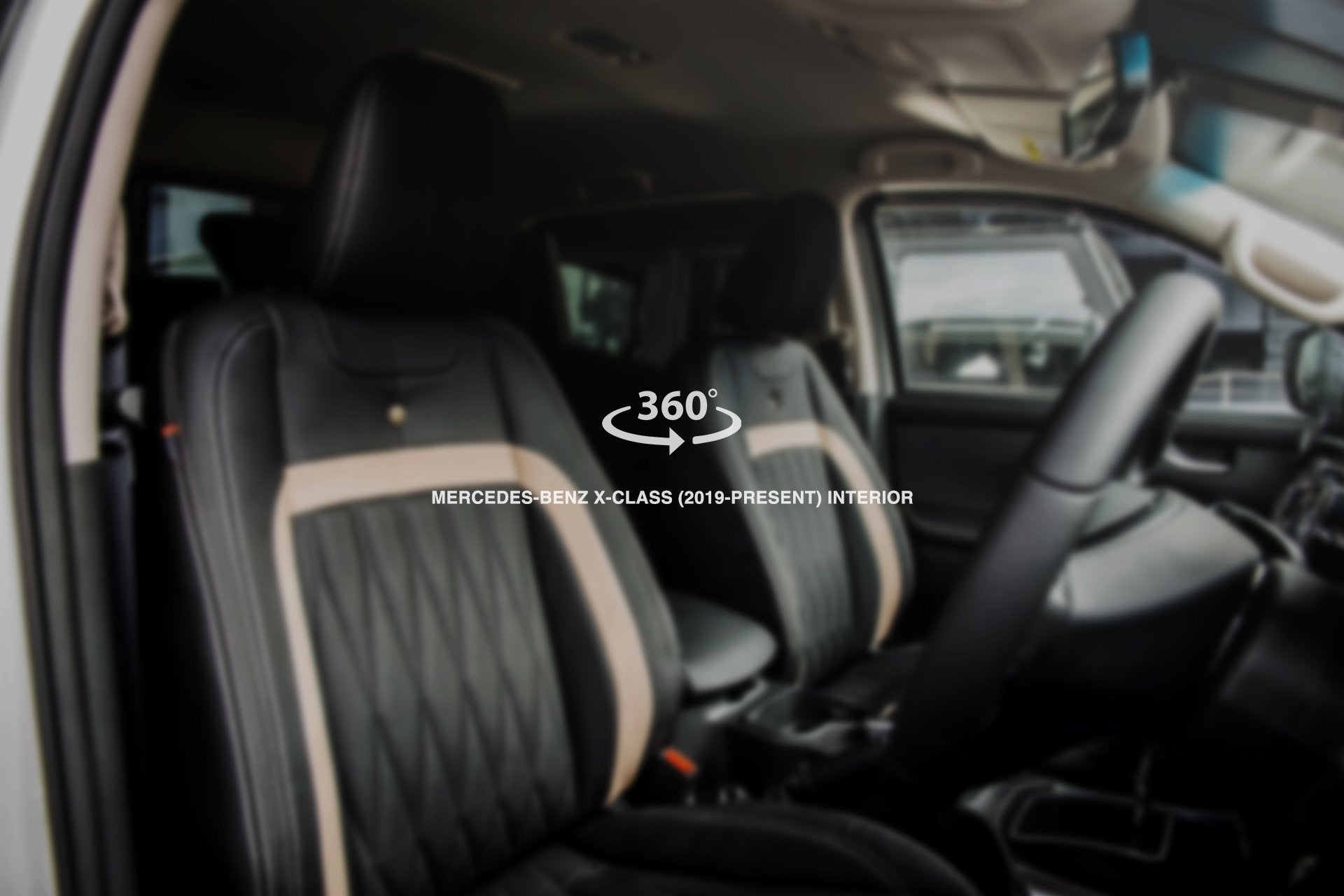 Mercedes X-Class (2019-Present) comfort Interior - Project Kahn