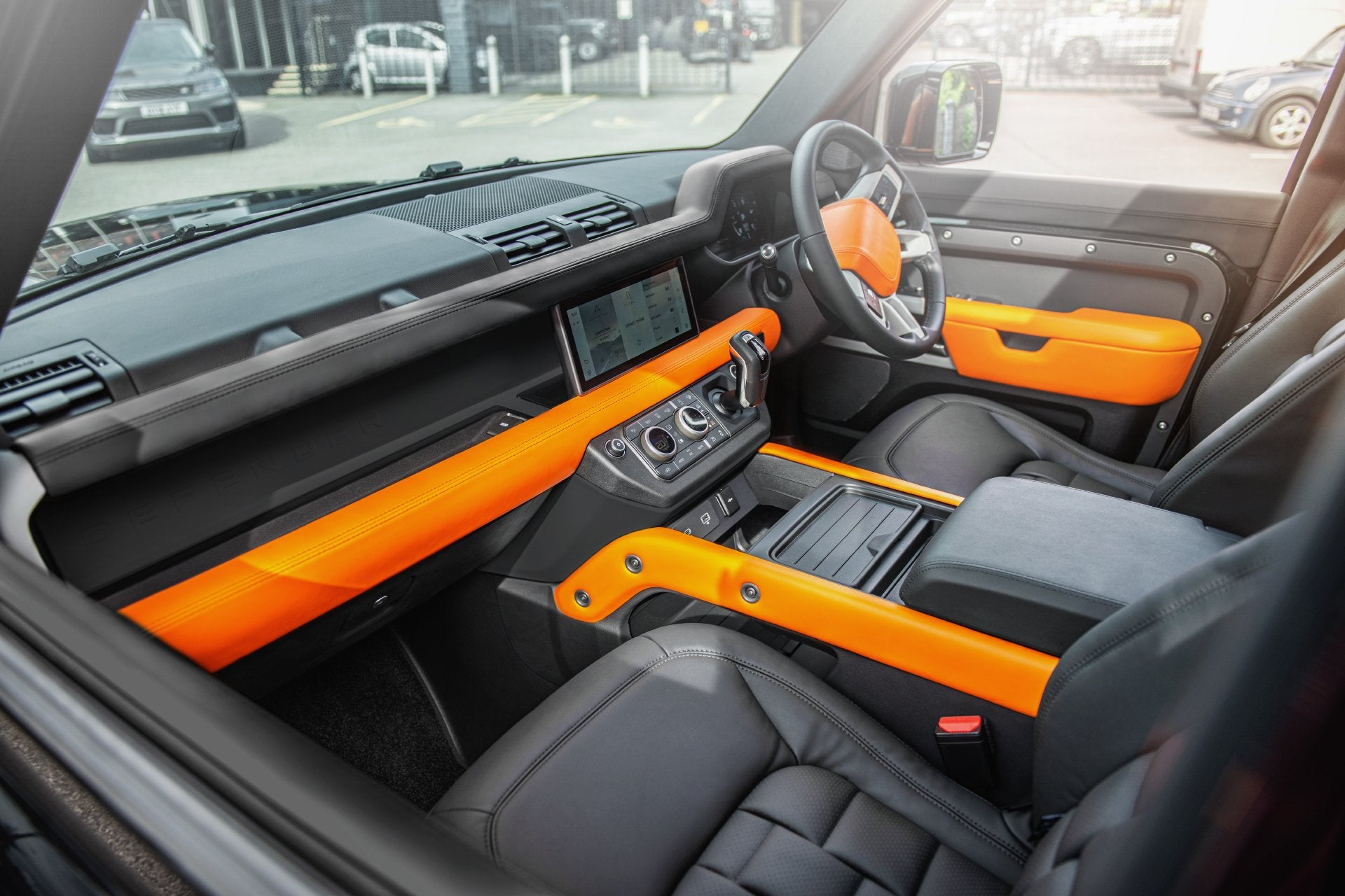 Land Rover Defender 110 (2020-Present) Environment 3: Middle and Lower Interior - Project Kahn