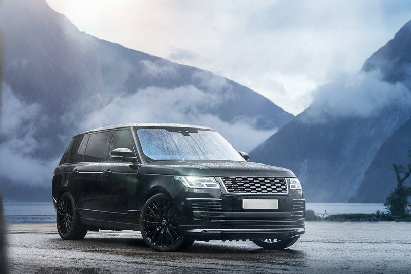 Range Rover (2018-Present) Exposed Carbon Front Bumper Valance Package by Kahn - Image 2680
