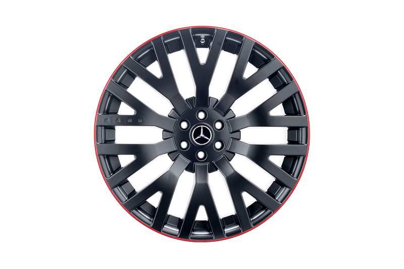 Mercedes Benz X-Class (2019-Present) Rs Light Alloy Wheels With Colour Stroke by Kahn - Image 2989