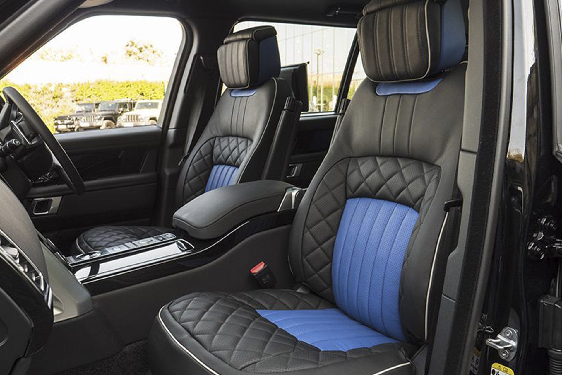 Range Rover (2018-Present) Leather Interior by Kahn - Image 1724