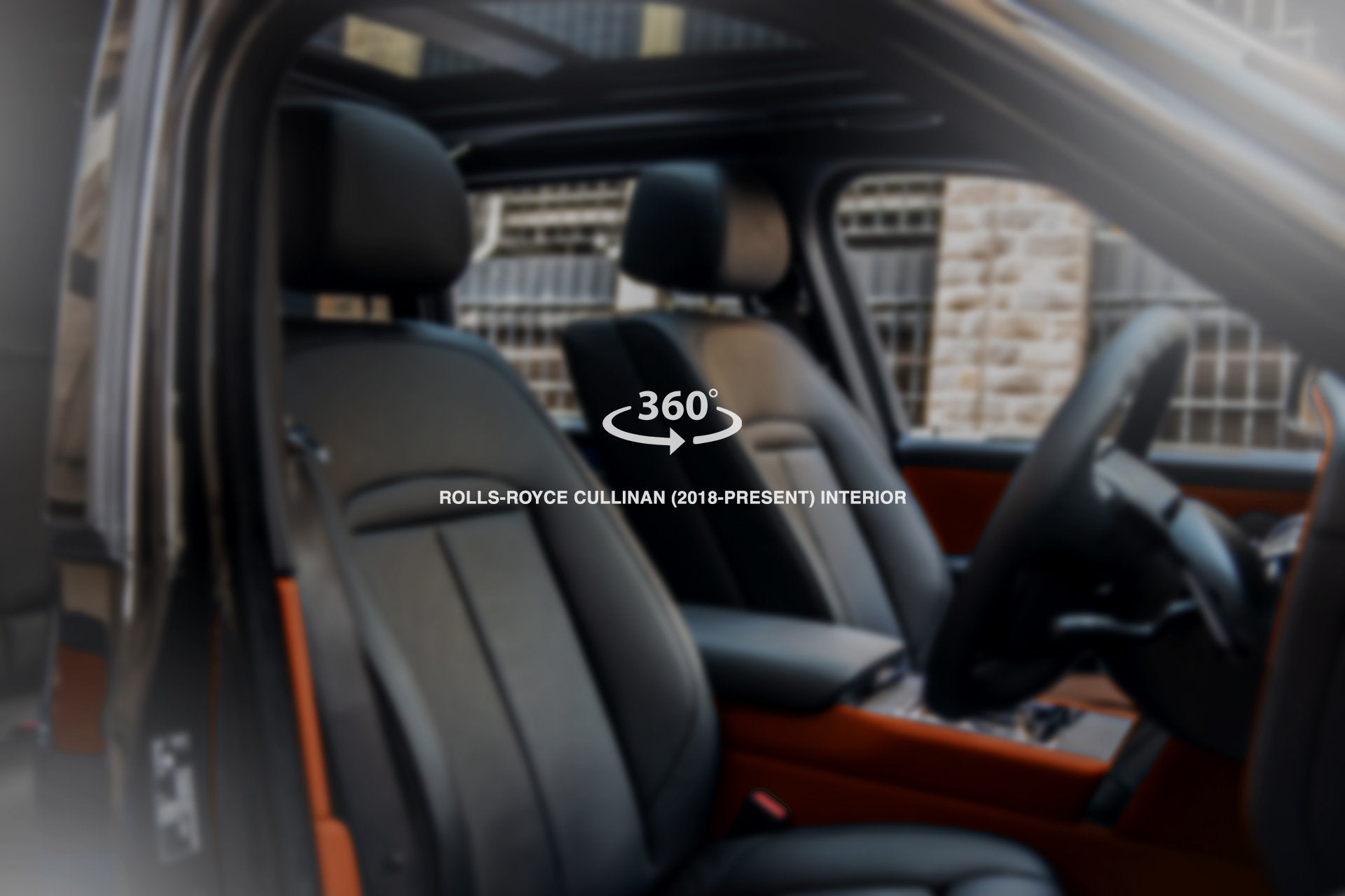 Rolls-Royce Cullinan (2018-Present) Bespoke Orange Interior by Kahn - Image 1615