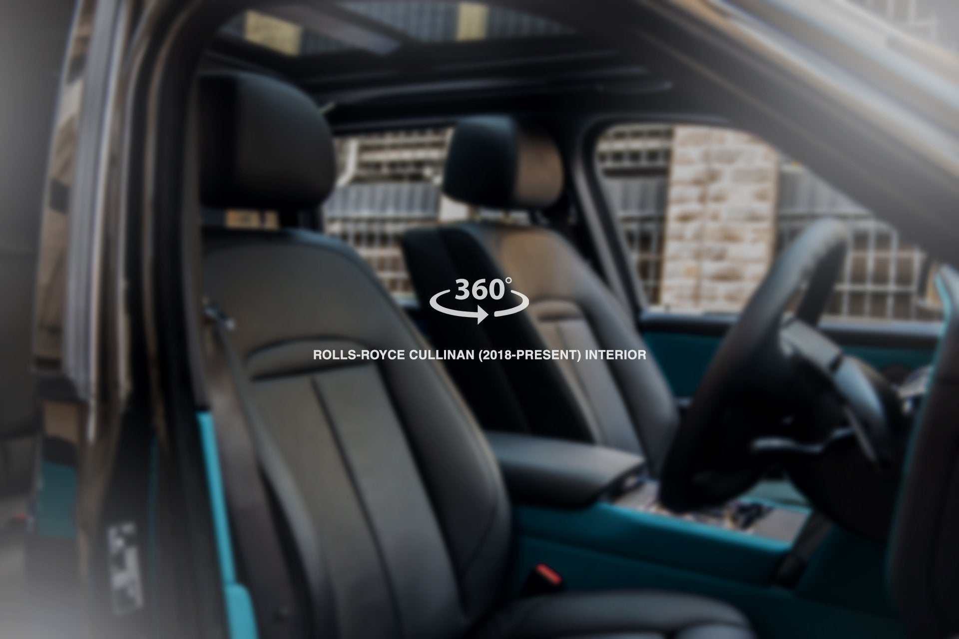 Rolls-Royce Cullinan (2018-Present) Bespoke Teal Interior by Kahn - Image 1856