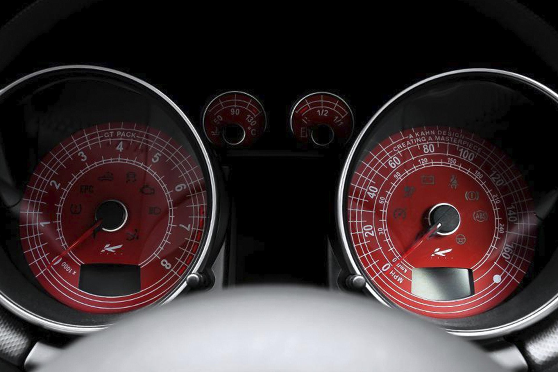 Audi Tt  (1998-2006) Speedo Dials Red by Kahn - Image 1863