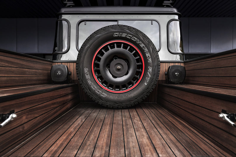 Land Rover Defender 90 (1991-2016) Wooden Teak Decking Image 5251