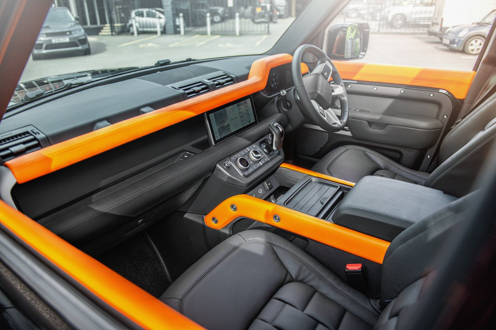 Land Rover Defender 90 (2020-Present) Environment 2: Upper and Lower Interior - Project Kahn