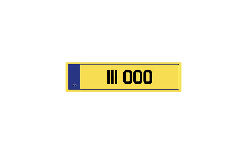 Private Plate 111 000 by Kahn - Image 267