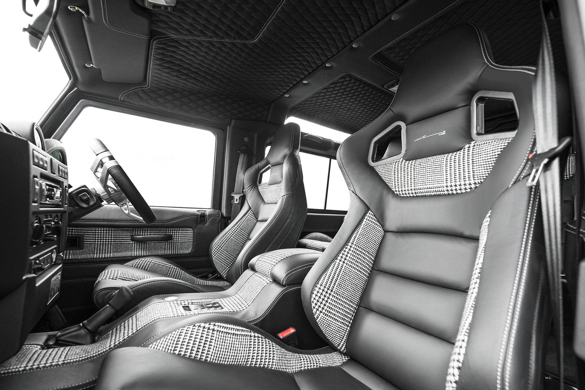 Land Rover Defender 90 (1991-2016) Leather Interior by Chelsea Truck Company - Image 1491