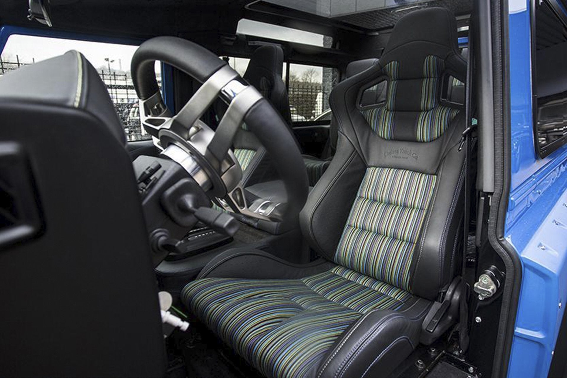 Land Rover Defender 90 (1991-2016) Leather Interior by Chelsea Truck Company - Image 1451