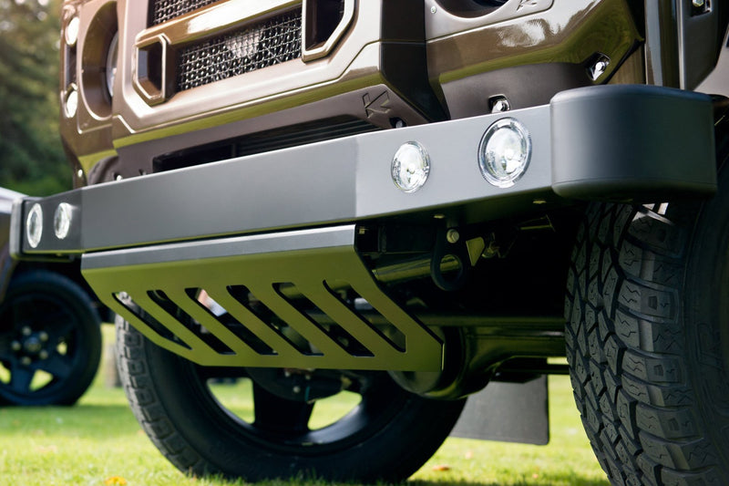 Land Rover Defender 110 (1991-2016) Front Bumper Sump Guard by Chelsea Truck Company - Image 2435