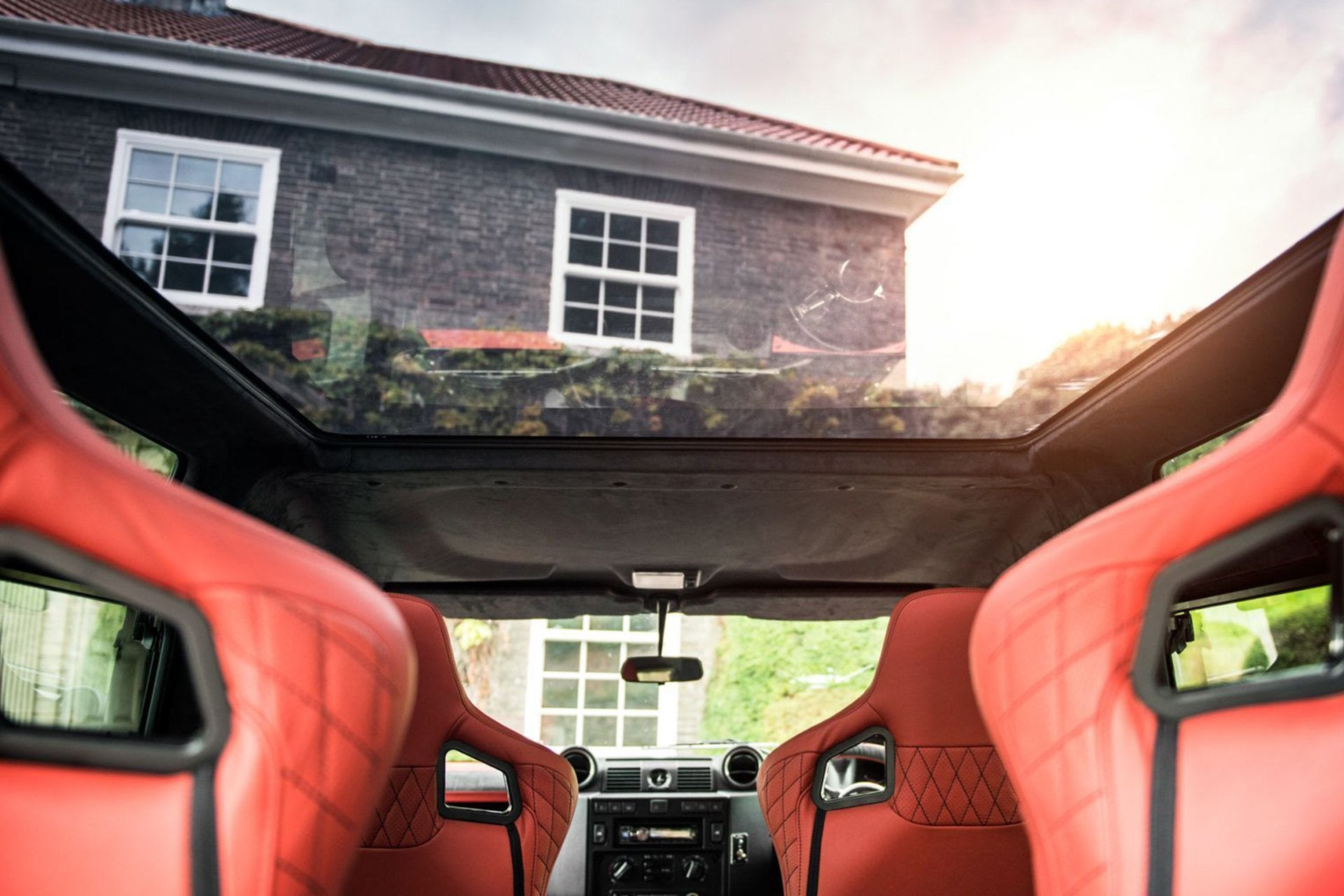 Land Rover Defender 90 (1991-2016) Panoramic Roof