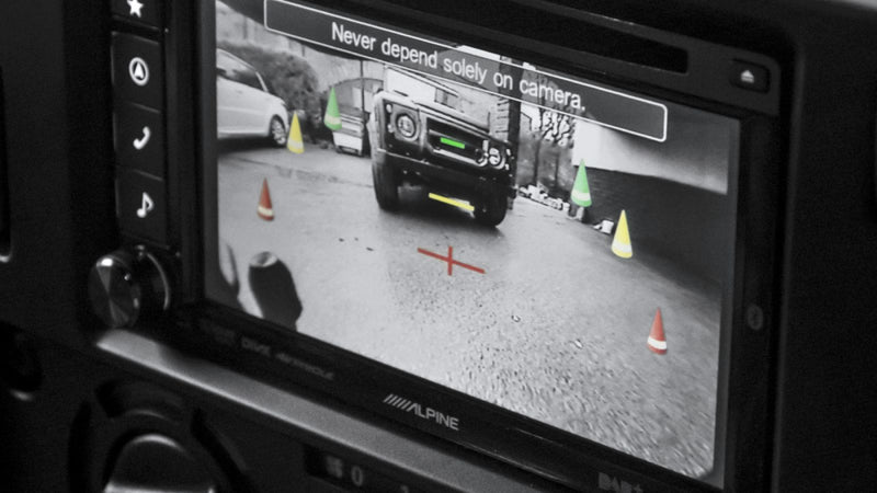 Land Rover Defender 90 (1991-2016) Rear View Camera Image 5259