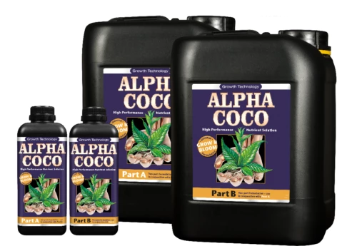 Growth Technology Alpha Coco Coir Grow Bloom Heavy Harvests Hydroponics