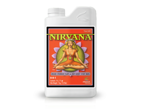 Advanced Nutrients Nirvana Bigger Stronger Plants Yield Hydroponics