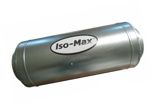 ISO MAX inline accoustic silencer fan