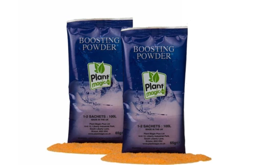 Plant Magic Boosting Powder Sleeve 2 x 65g Sachet Flowering Nutrients Hydoponics