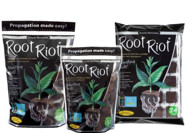 Root Riot Peat Based Cubes Rapid Root Development Propagation Hydroponics