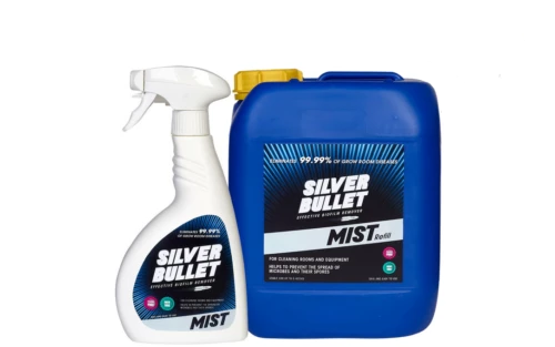 Silver Bullet Mist Steriliser Disinfectant Cleaner Hydroponics Grow Room