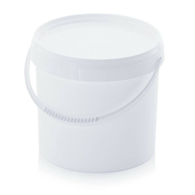 White Buckets Airtight Container