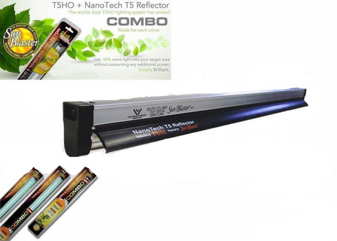 Sunblaster T5 Nano Propagation Grow Light for Cuttings Clones Seeds All Sizes