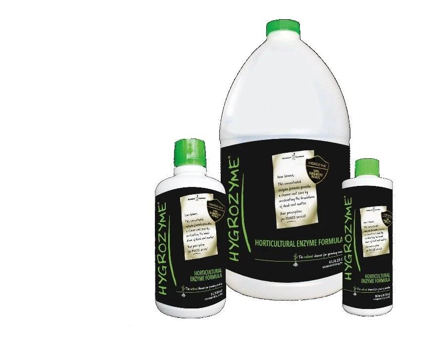 Hygrozyme Organic Enzyme Hydroponic Plant Root Supplement 500ml 1 Litre 4 Litre