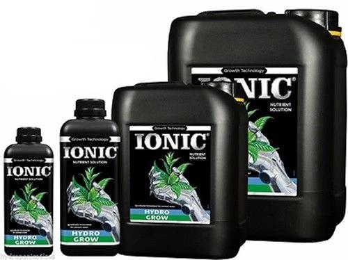 IONIC Hydro Flood & Drain Food Plant Nutrients Hydroponic Grow Hard - Soft Water