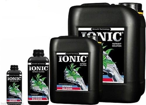 IONIC Hydro Flood & Drain Food Plant Nutrients Hydroponic BLOOM Hard or Soft