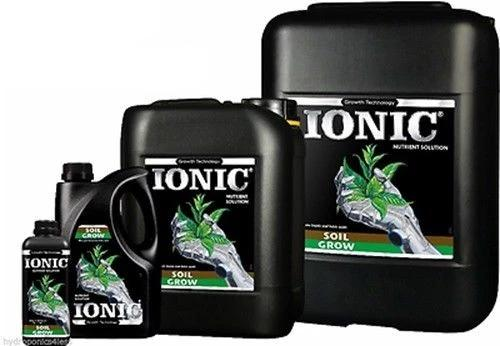 IONIC Soil Food Plant Nutrients Hydroponic Feed Big Yields Growing Media GROW