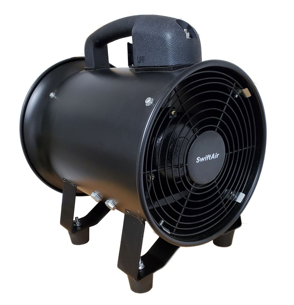 Exhaust Portable Blower Cooling Fan Warehouse Garage Office Kitchen Hydroponics