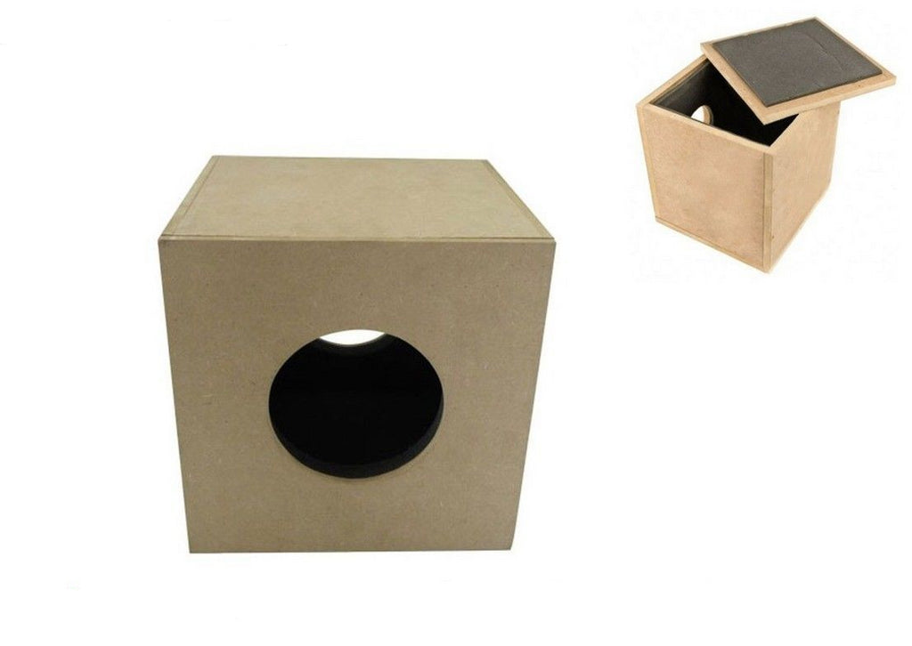 "4"" 5"" 6"" 8"" 10"" 12"" Hydroponic Grow Inline Wood Box Fan Assembly Box"