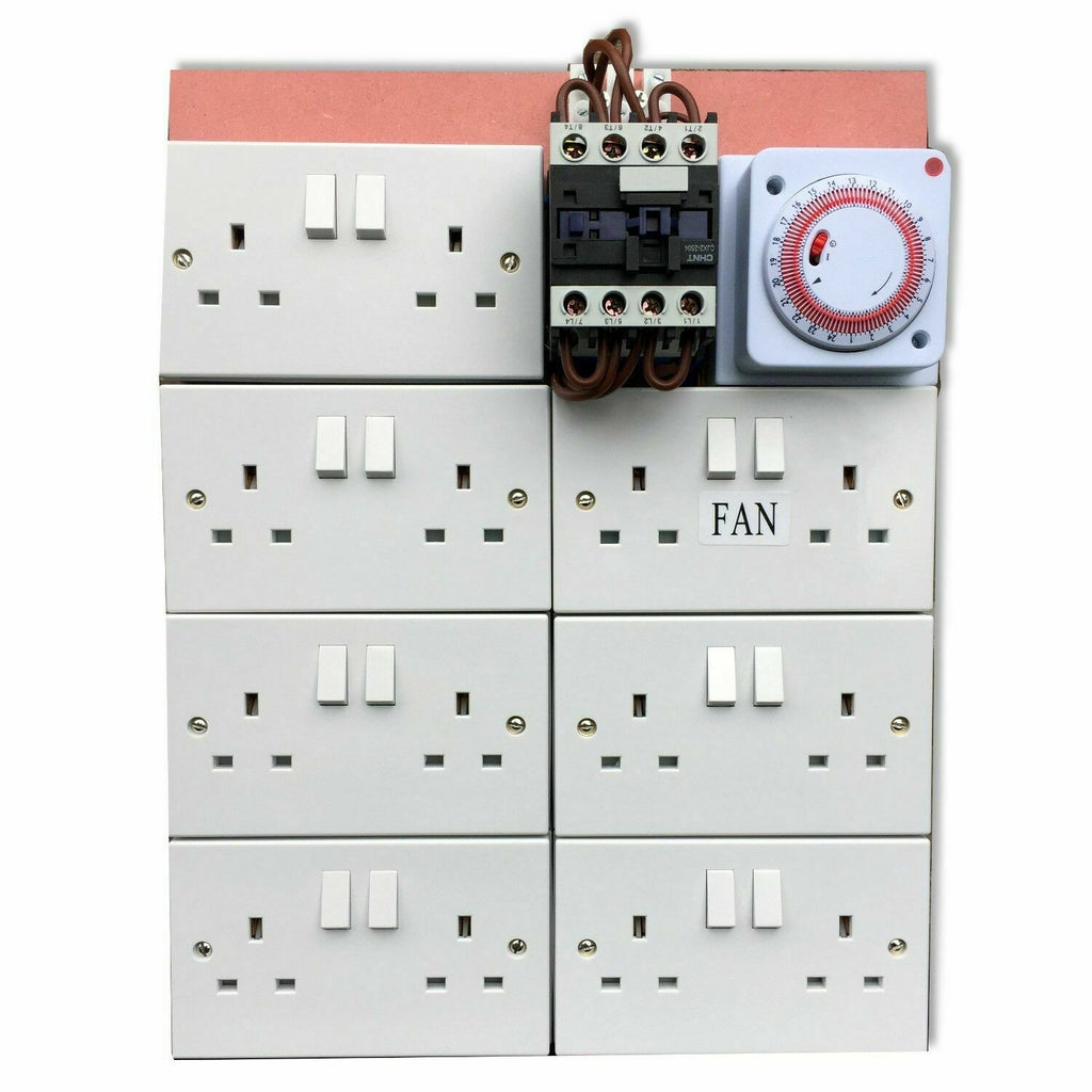 MDF Contactor Timer Board 40a