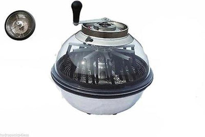 Hydroponics Plant Trimmer Bowl Leaf Spin Pro Tumble Bud Herb Machine 16