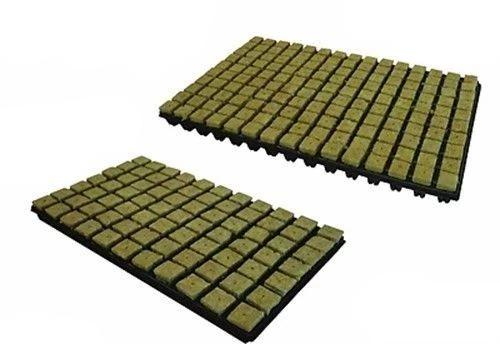 Hydroponics Cutting Cubes Tray 77 or 150 Rockwool Cultilene Propagation 25/35mm