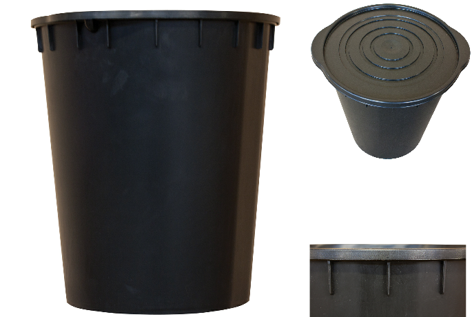 20L PLANT !T It Bucket And Lid For Hydroponics DWS IWS Oxypot Oxy Pot Tub