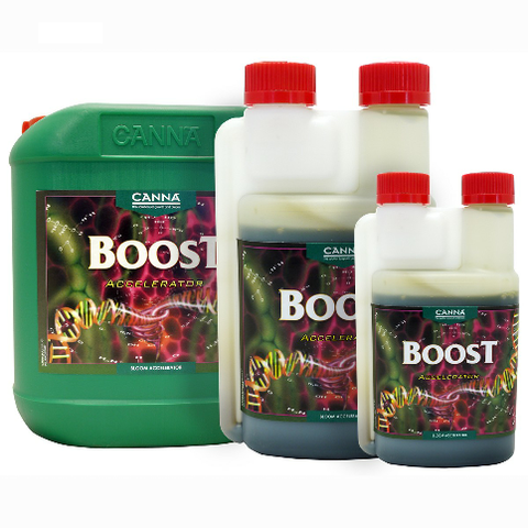 CANNA BOOST ACCELERATOR FLOWER ENHANCER STIMULATOR HYDROPONICS SOIL 250ml 1 5L