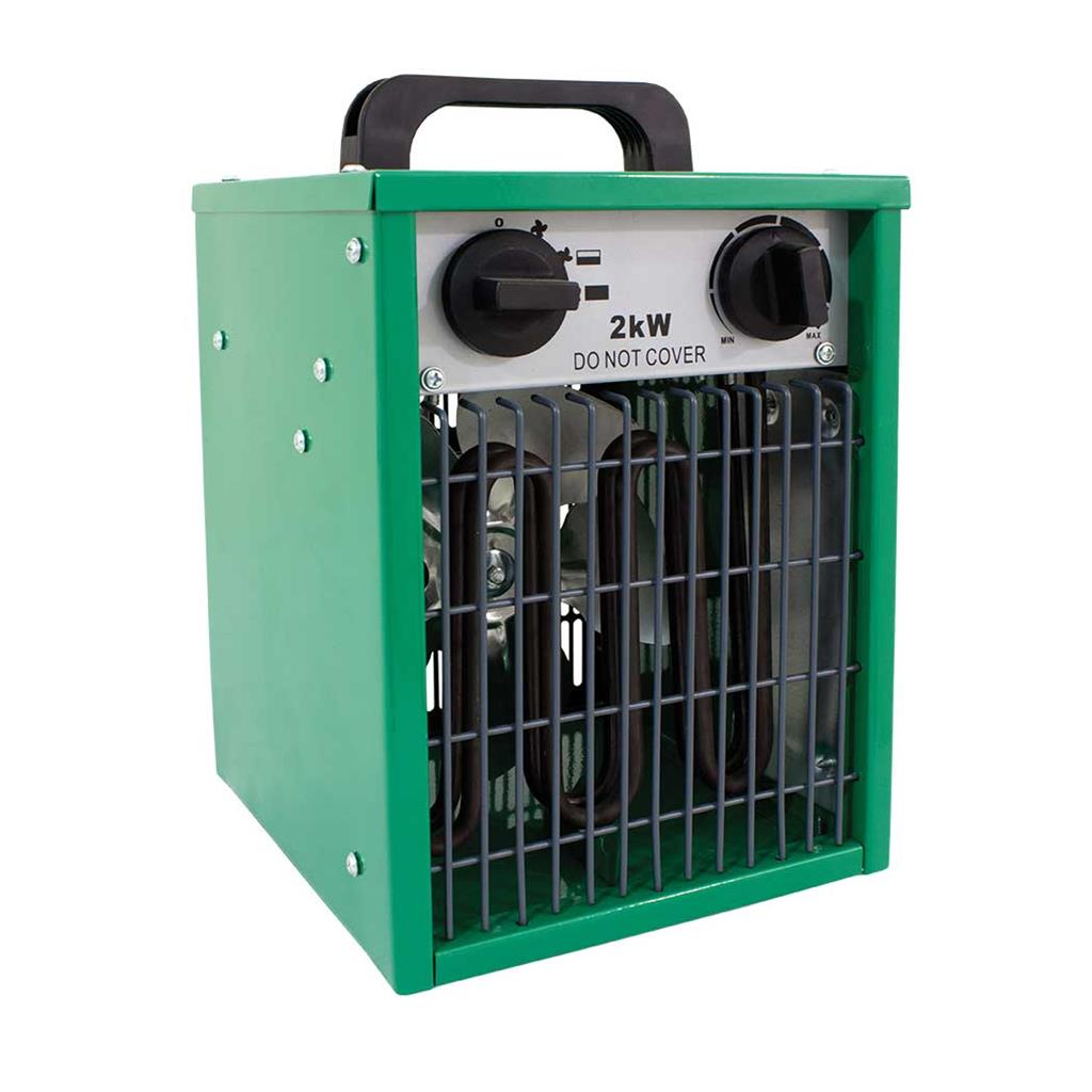 Lighthouse Electric Greenhouse Heater 1kw 2kw Modes Hydroponics Grow Tents