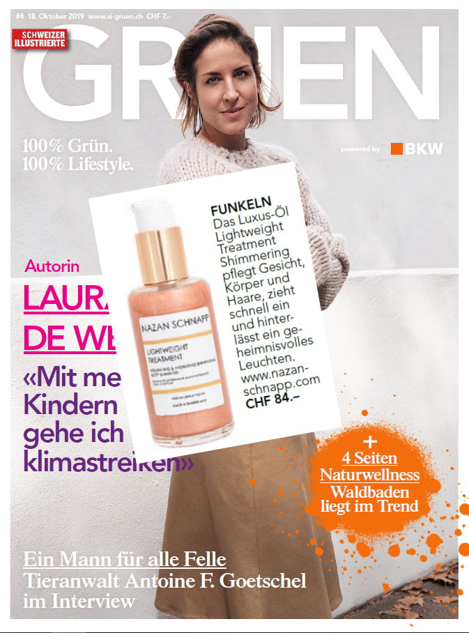 FUNKELN - LIGHTWEIGHT TREATMENT SHIMMERING IN SI GRUEN