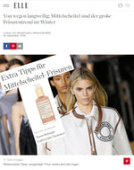 ELLE - WINTER HAIRSTYLE TREND WITH LIGHTWEIGHT TREATMENT SHIMMERING BODY & HAIR OIL