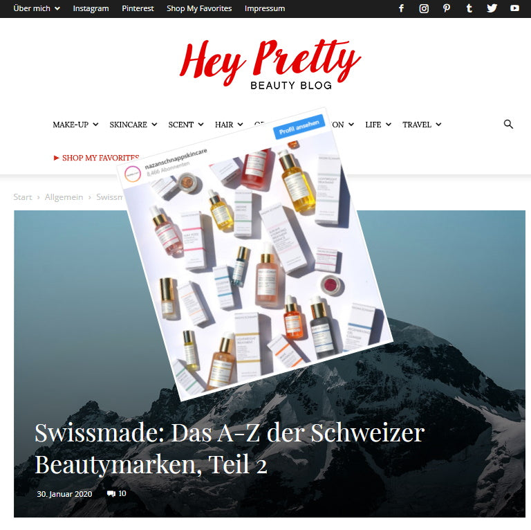 SWISSMADE - NAZAN SCHNAPP AS PIONEER FOR SWISS BEAUTY BRANDS