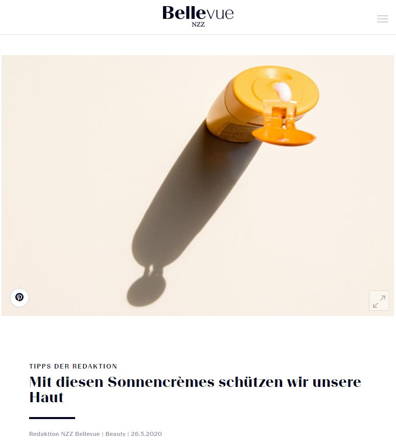 NZZ BELLEVUE - SUBLIME HYDRATING TREATMENT ESSENCE OPTIMISES SUN CREAMS
