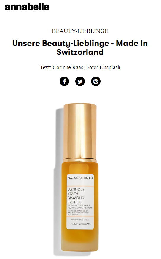 ANNABELLE - BEAUTY LIEBLINGE MADE IN SWITZERLAND