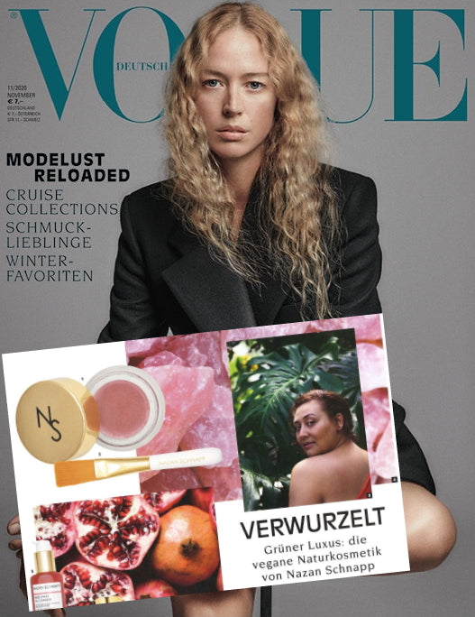 "VOGUE - ARTICLE ""GRÜNER LUXUS"""